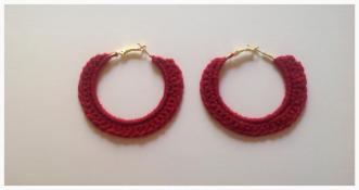 Single Crochet Earring