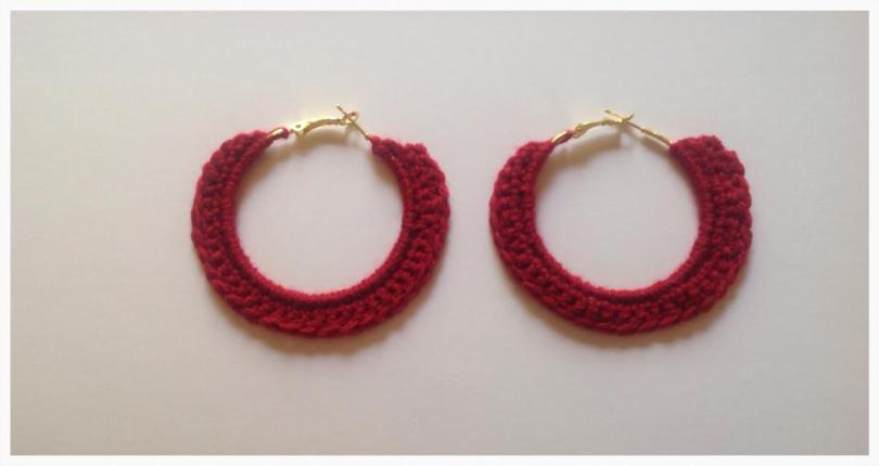 Single Crochet Earrings