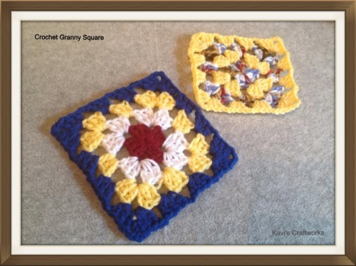 Crochet Basic Granny Square