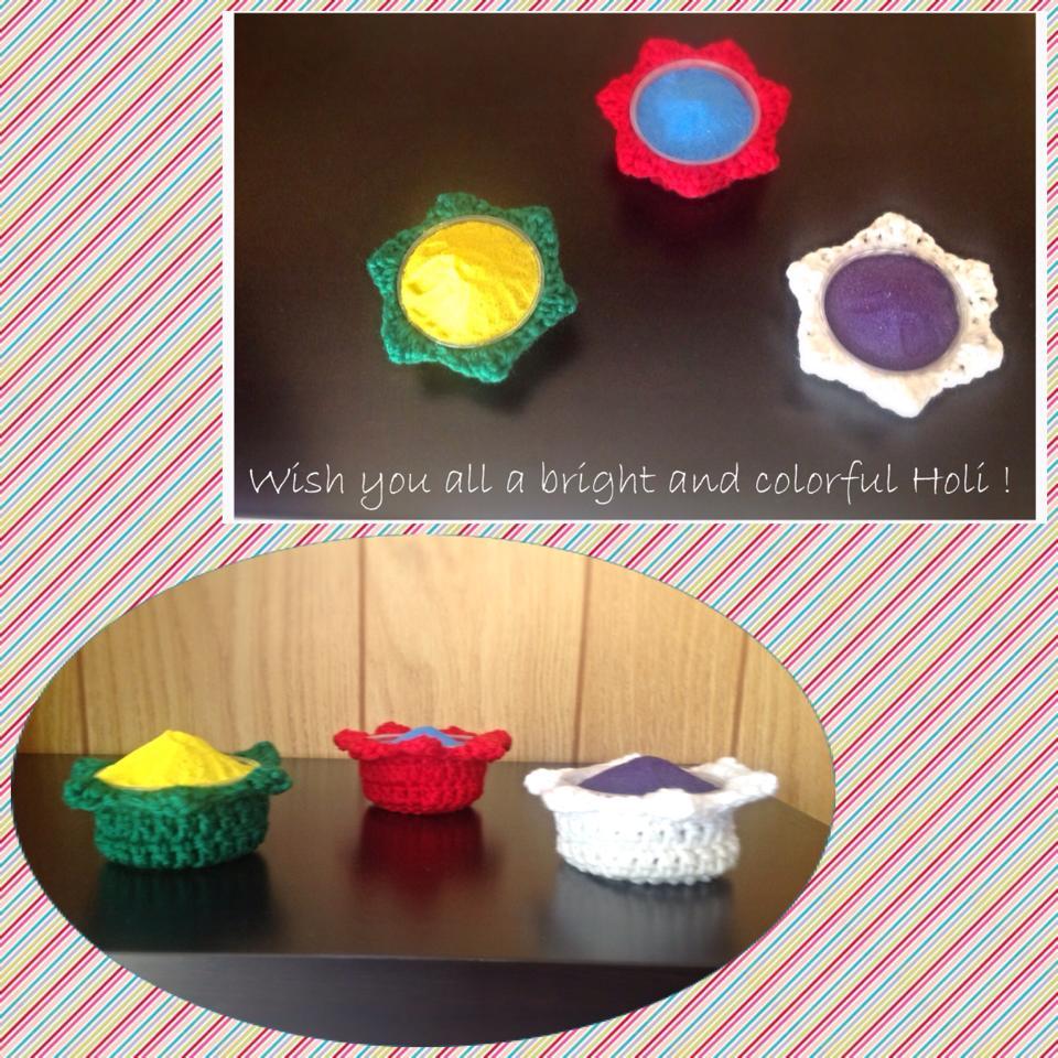 Holi Color Bowl