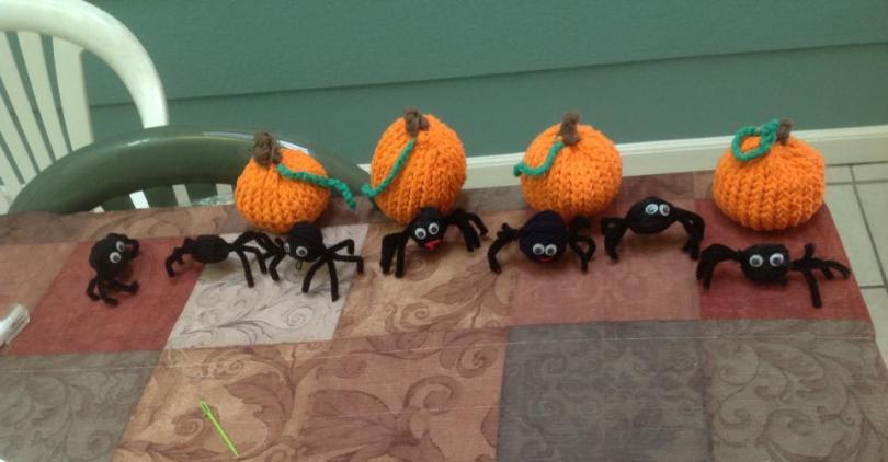 Sangeeta Afterschool - Pumpkin & Spider