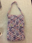 Lakshmi Aunty Iris stitch bag